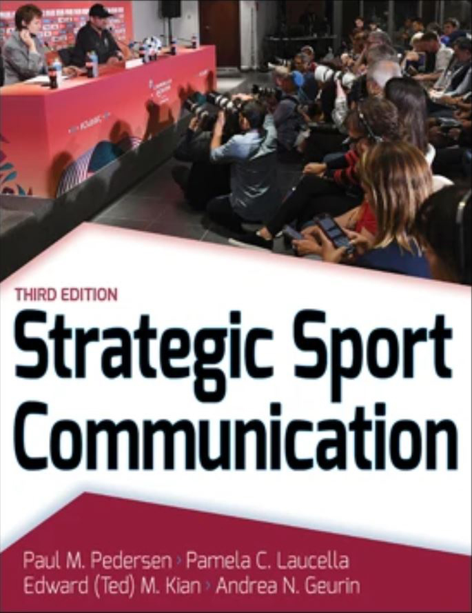 Strategic sport communication 3rd Edition Cover