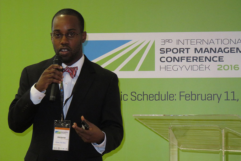 3rd Annual International Sports Management Association Conference in Budapest, Hungary
